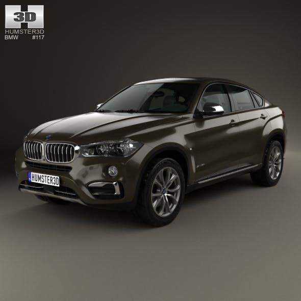 BMW X6 (F16) 2014 - 3DOcean Item for Sale
