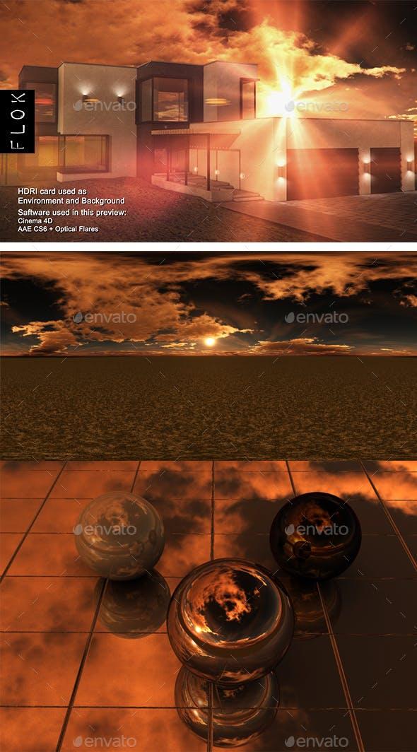 Sunset Desert 61 - 3DOcean Item for Sale