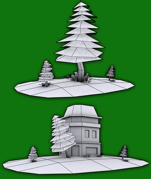 Game Objects Model - 3DOcean Item for Sale