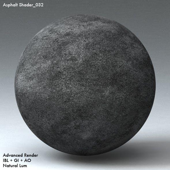 Asphalt Shader_032 - 3DOcean Item for Sale