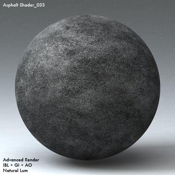 Asphalt Shader_033 - 3DOcean Item for Sale