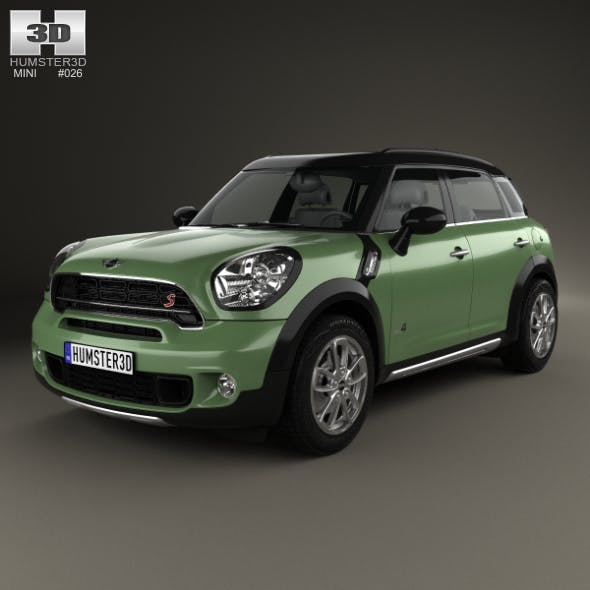Mini Cooper Countryman SD All4 2014 - 3DOcean Item for Sale