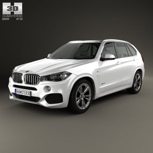 BMW X5 M Sport Package F15 2014 - 3DOcean Item for Sale