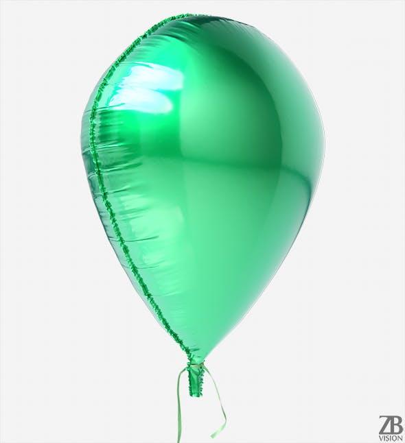 Waterdrop Foil Balloon - 3DOcean Item for Sale