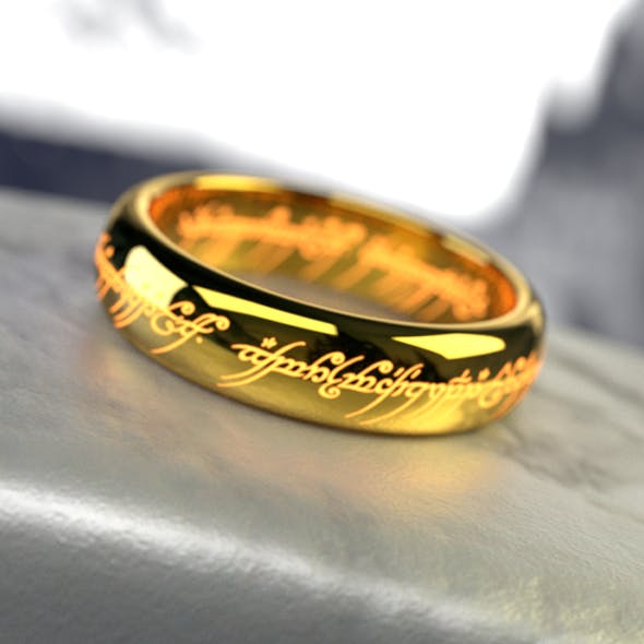 One Ring - 3DOcean Item for Sale