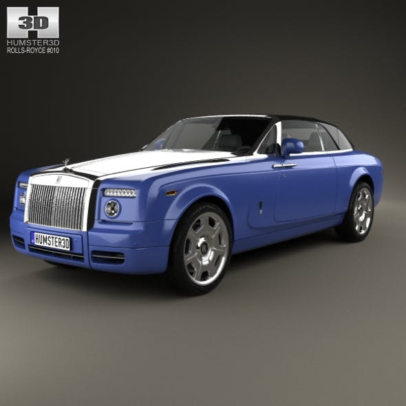Rolls-Royce Phantom Drophead Coupe 2008 - 3DOcean Item for Sale