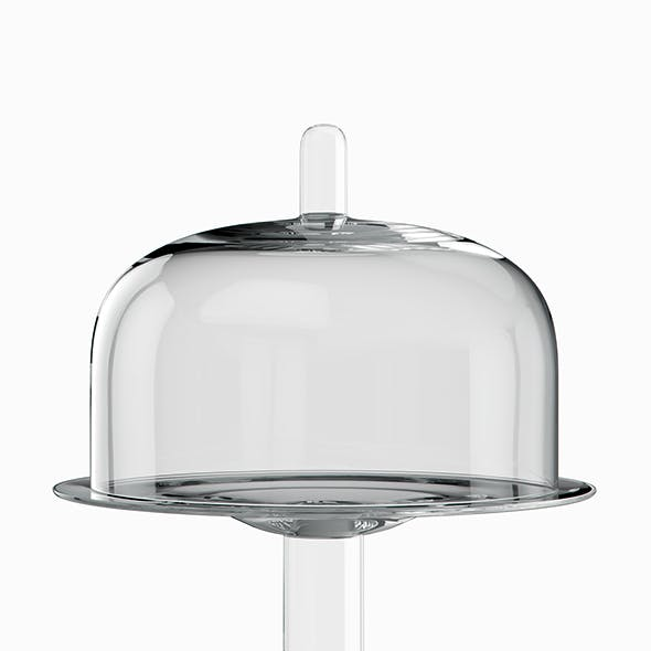 Cake Plate and Cloche