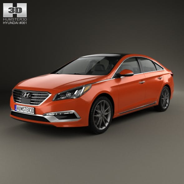 Hyundai Sonata (US) 2015 - 3DOcean Item for Sale