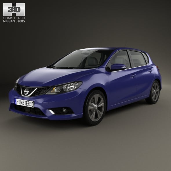 Nissan Pulsar hatchback 2014 - 3DOcean Item for Sale