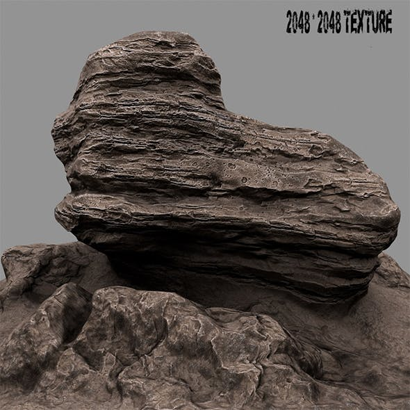 mountain rock 3 - 3DOcean Item for Sale