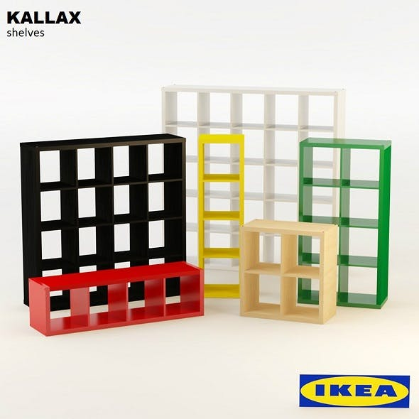 Ikea Kallax Shelves
