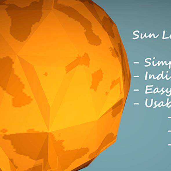 Low-Poly Sun