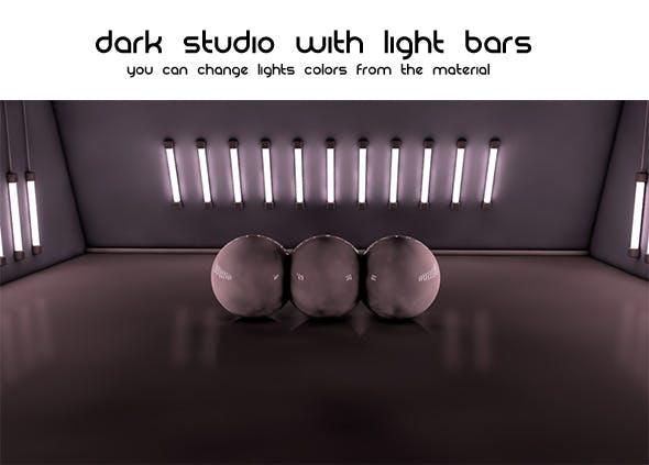 Dark Studio ( Light Bars ) - 3DOcean Item for Sale