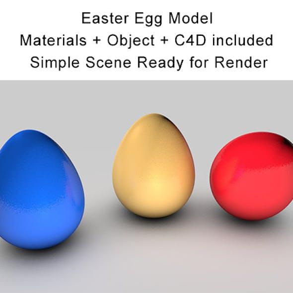 Easter Egg Model