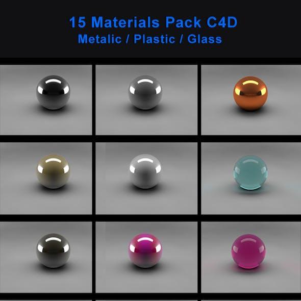 15 Materials Pack