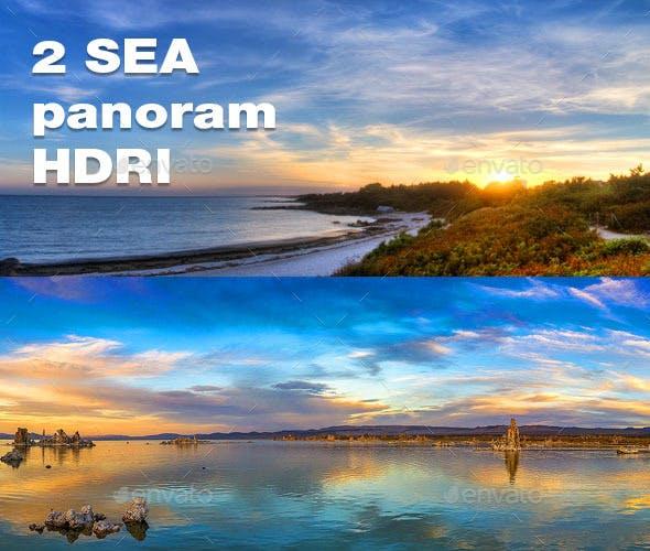 2 Sea Panoram HDRI - 3DOcean Item for Sale