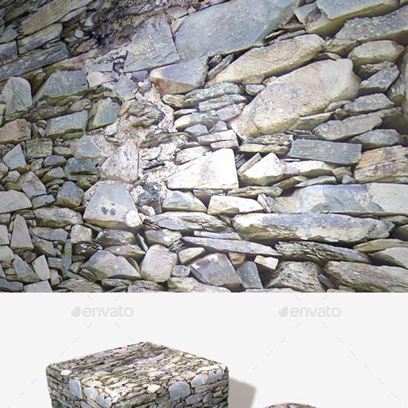 Grey Rock Wall Seamless Texture
