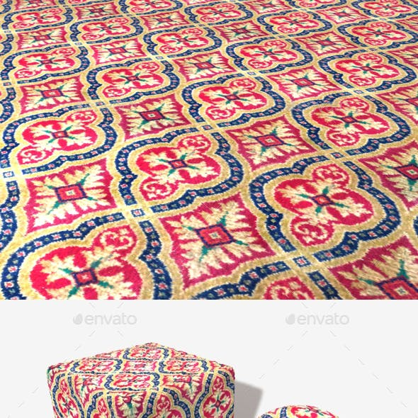 Old Style Carpet Seamless Texture