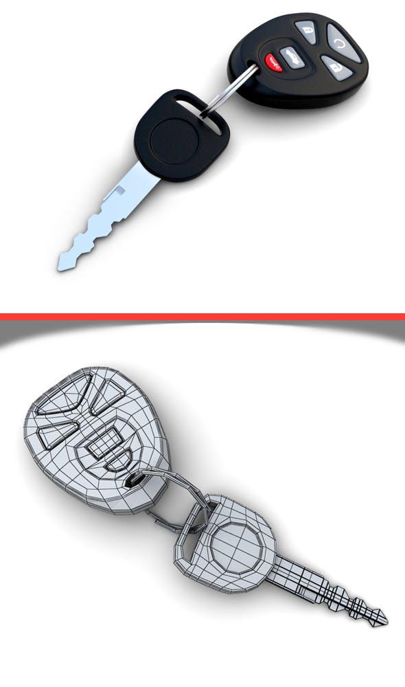Car Key - 3DOcean Item for Sale