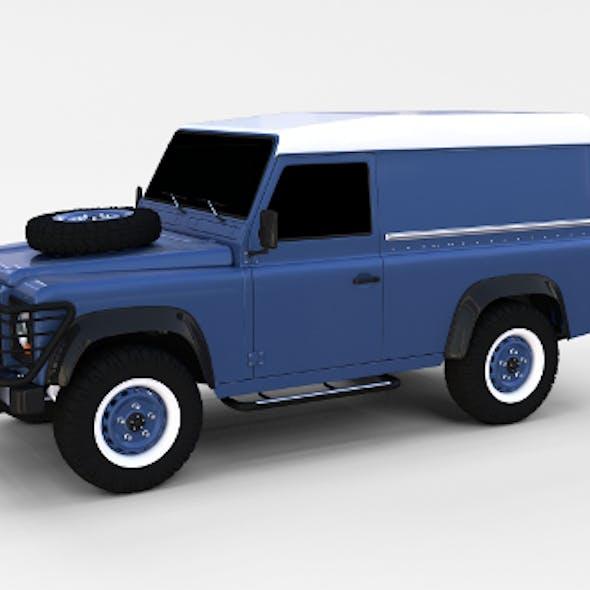 Land Rover Defender 90 Hard Top rev