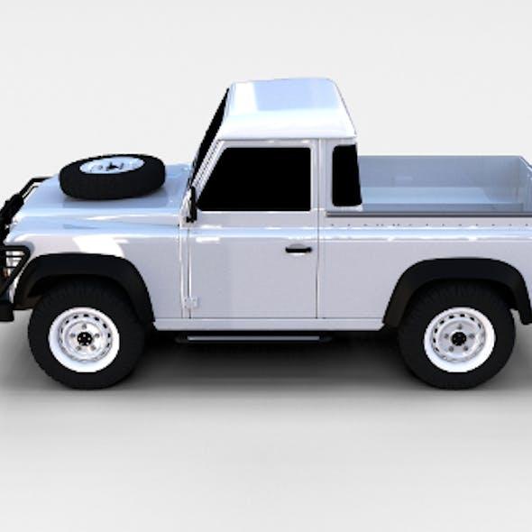 Land Rover Defender 90 Pick Up rev