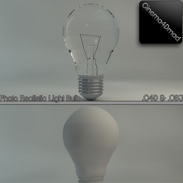 Light bulb (Photo realistic)