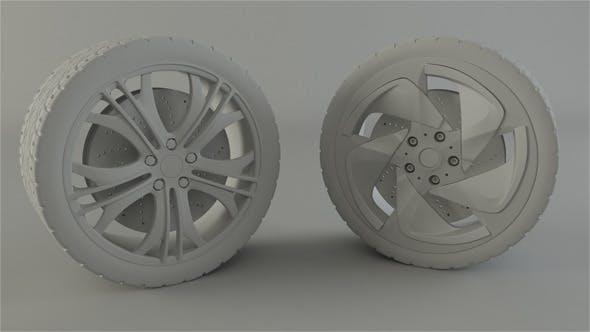 BMW and Audi Rim - 3DOcean Item for Sale