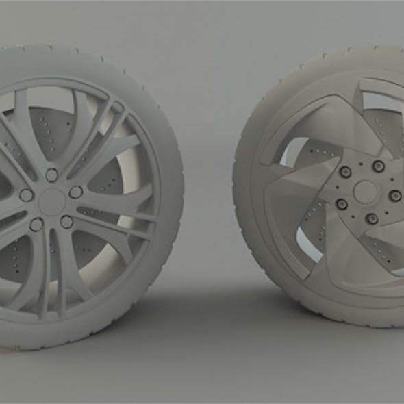 BMW and Audi Rim