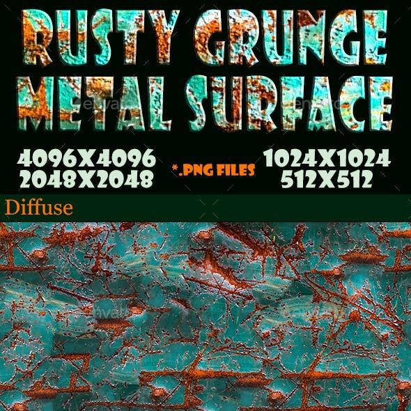 Rusty Grunge Metal Surface