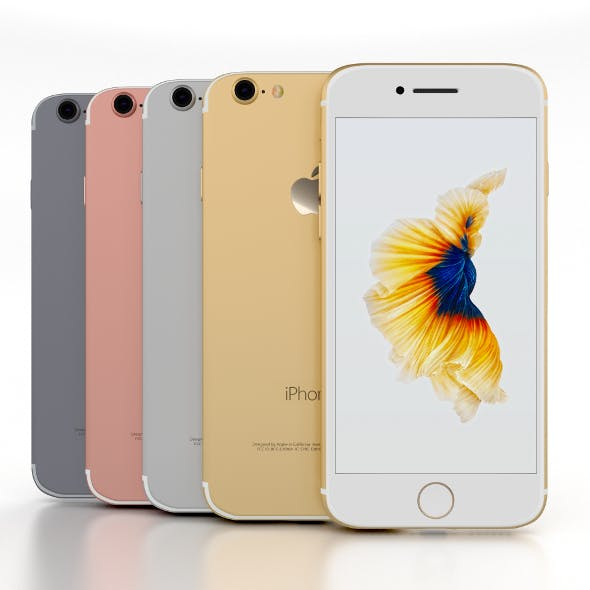 iPhone 7 Pack - 3DOcean Item for Sale