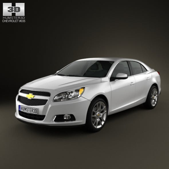 Chevrolet Malibu ECO 2013 - 3DOcean Item for Sale