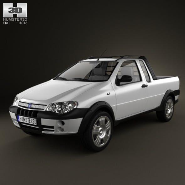 Fiat Strada III 2004  - 3DOcean Item for Sale