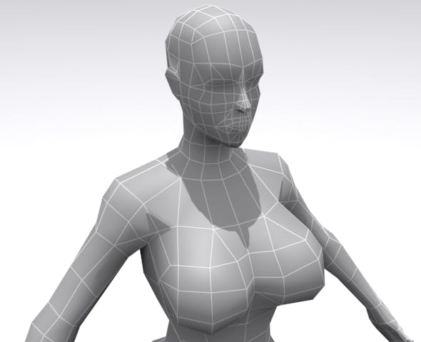 Female - Base - 3DOcean Item for Sale