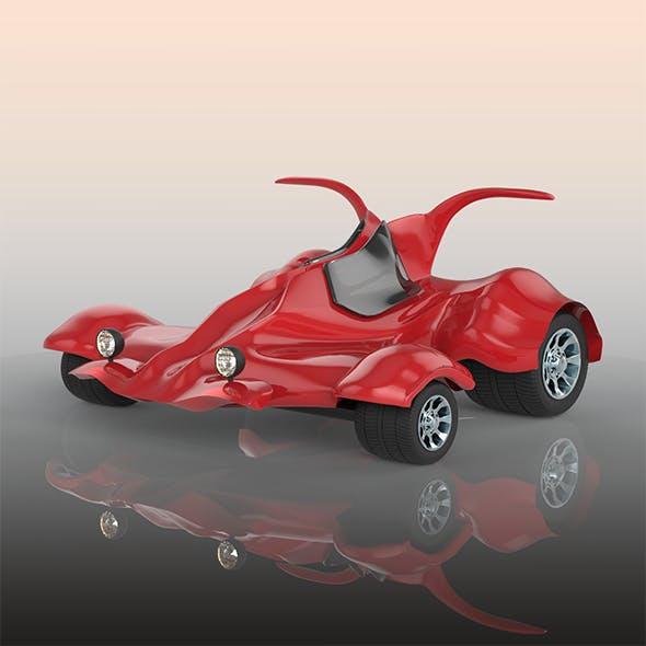 Go karting car - 3DOcean Item for Sale