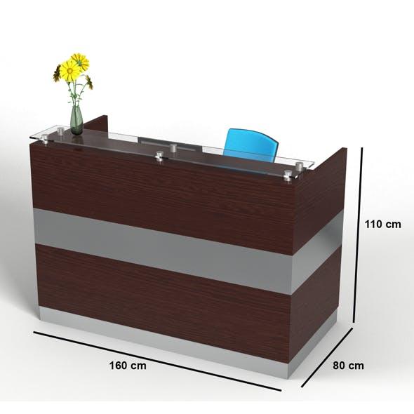 Counter desk - 3DOcean Item for Sale