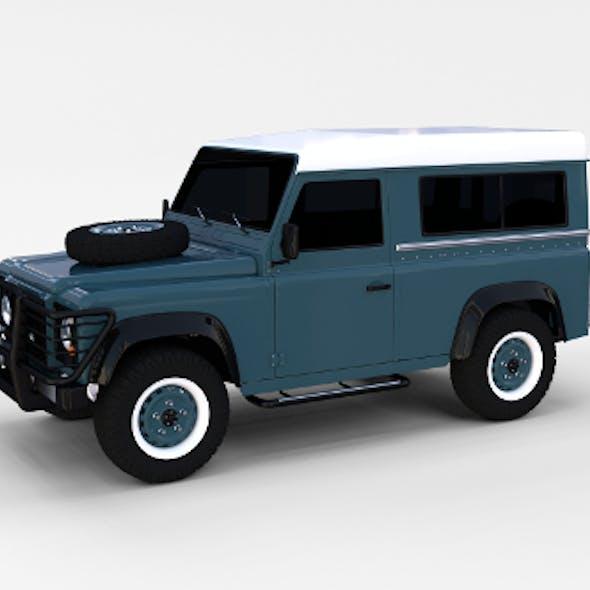 Land Rover Defender 90 Station Wagon rev