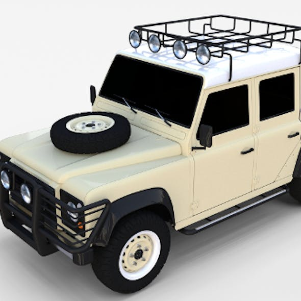 Land Rover Defender 110 Double Cab Pick Up rev
