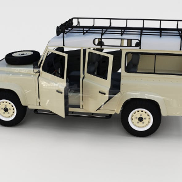 Full Land Rover Defender 110 Station Wagon rev