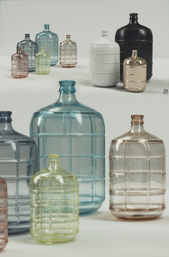HK Living Waterfles - 3DOcean Item for Sale