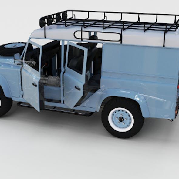 Full Land Rover Defender 110 Utility Station Wagon rev