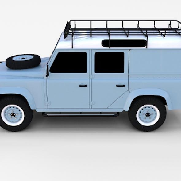 Land Rover Defender 110 Utility Station Wagon rev