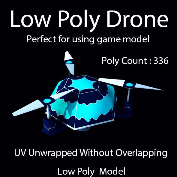 Low Poly Drone