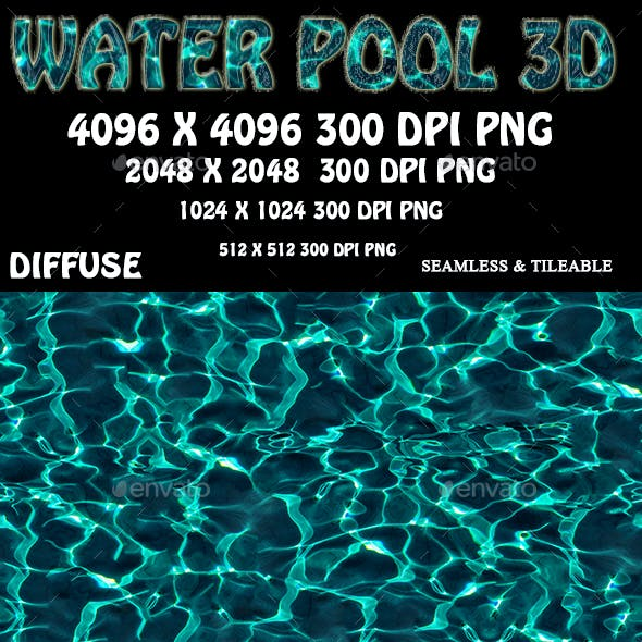 Water Pool  3D Texture