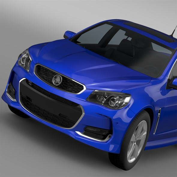 Holden Commodore SV6 VF Series II 2016 - 3DOcean Item for Sale