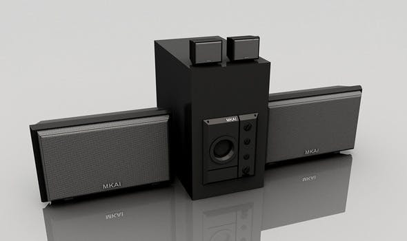 Music Surround System - 3DOcean Item for Sale