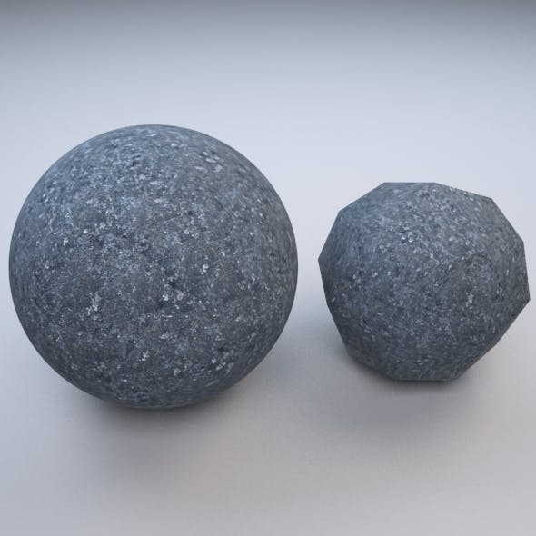 Rock Realistic V-ray Material