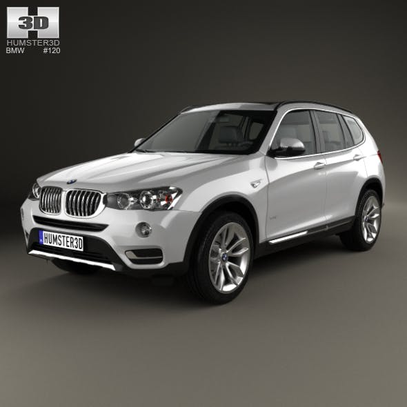 BMW X3 (F25) 2014 - 3DOcean Item for Sale