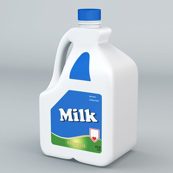 Plastic Milk Gallon