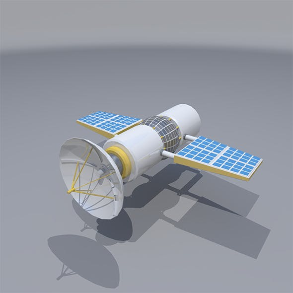 Lowpoly Satellite