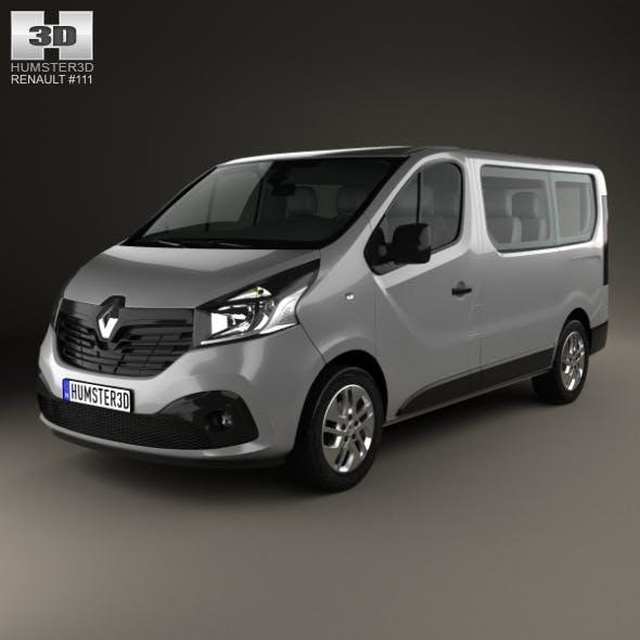 Renault Trafic Passenger Van 2014 - 3DOcean Item for Sale